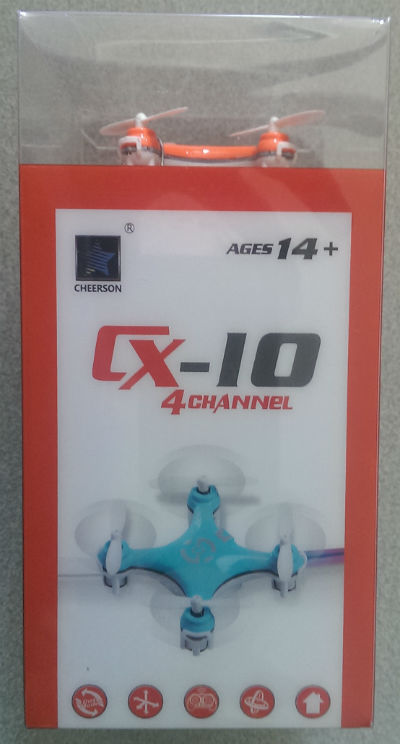 Cheerson CX-10 Package
