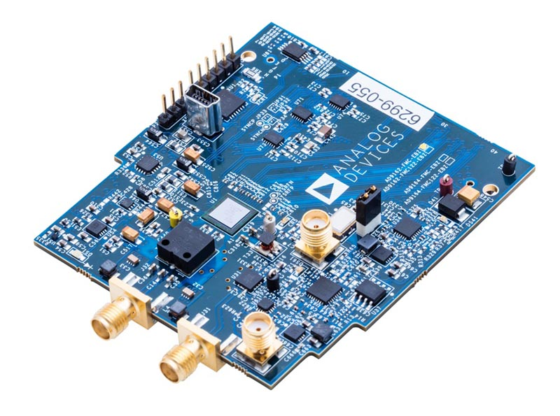 The AD9162 evaluation board