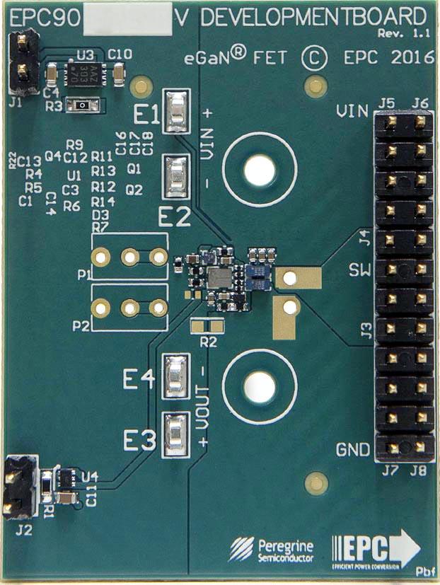 Оценочный набор для драйвера затворов GaN полевых транзисторов PE29100
