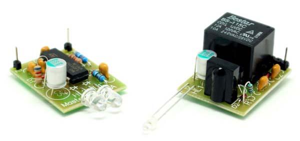 Инфракрасный барьер и Цифровая лаборатория NR05