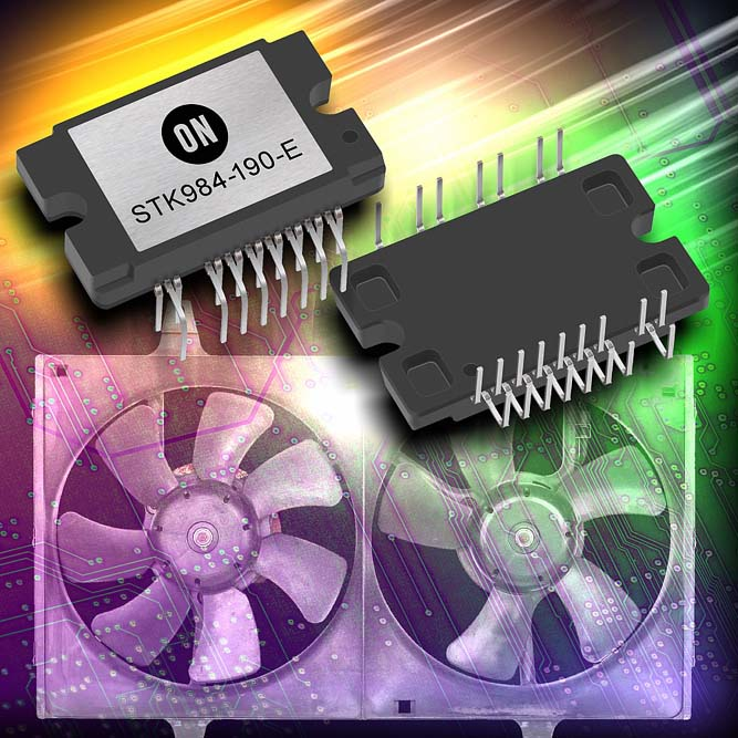 ON Semiconductor Introduces Automotive Power Integrated Module Solution for Next Generation Automotive BLDC Systems