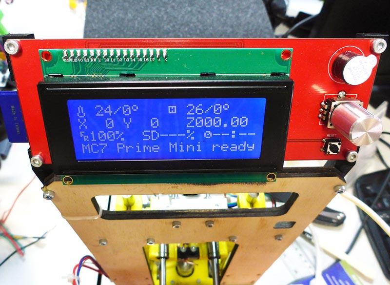 ��������� 3D-�������� MC7 Prime mini �� ������ ��� - ��������� �������������� ����� ������ ������