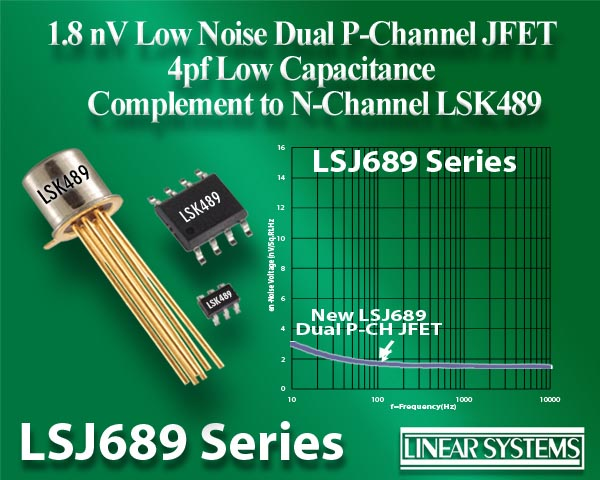Linear Integrated Systems - LSJ689