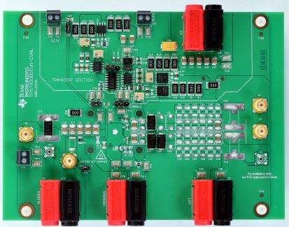 TPS7H3301-SP - оценочный модуль терминатора шины DDR