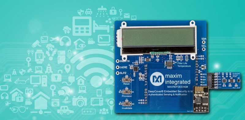 MAXREFDES143 embedded security reference design from Maxim Integrated Products,