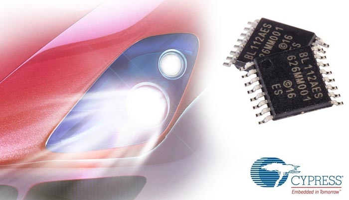 New Cypress Automotive LED Driver Delivers Robust Performance and Minimizes the Bill-of-Material for Headlight Systems