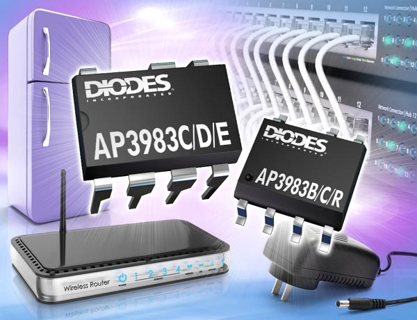 Primary-Side Switcher from Diodes Incorporated Raises Power Supply Efficiency