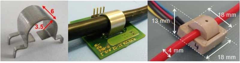 Пример измерения тока провода с помощью MLX91208