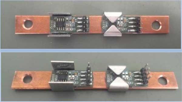 Пример измерения тока массивной шины с помощью MLX91208