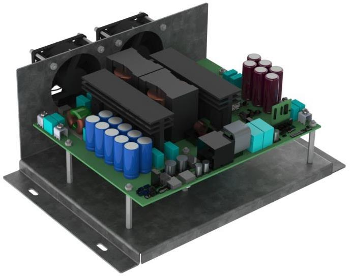 20 kW Full Bridge Resonant LLC Converter CRD-20DD09P-2