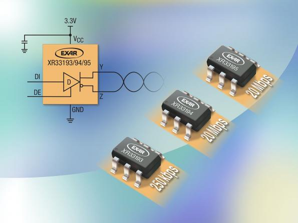Exar Announces Family of High-Speed, Ultra-Low Power RS-485 Transmitters
