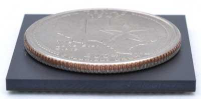 Размеры SIP микросхем OSD335x сравнимы с размерами крупной монеты