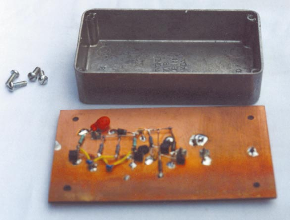 Тестер для проверки блокировочных конденсаторов