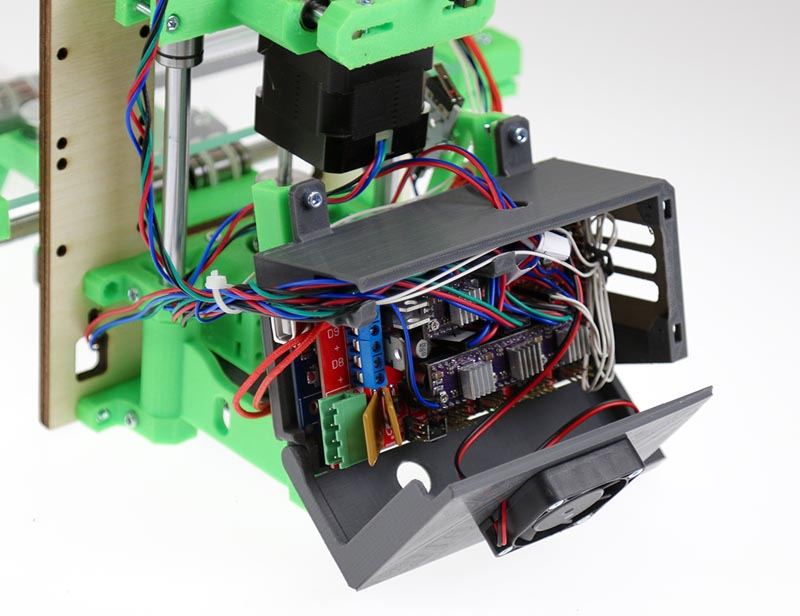 Безопасный 3D-принтер - актуальная доработка принтера MC7