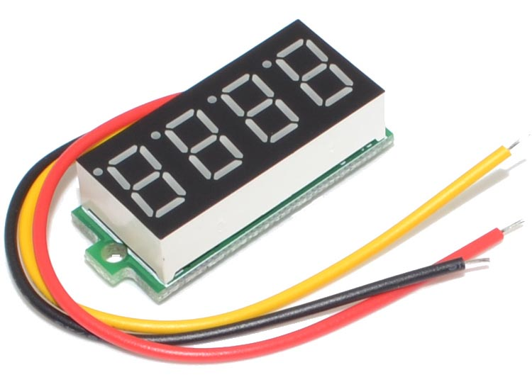 Isolated supply powers DVM module