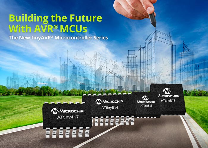 Microchip Launches New Generation of 8-bit AVR® MCUs with Core Independent Peripherals