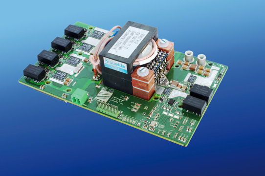 GaN used to Design 2.5MHz 3kW Resonant DC-DC