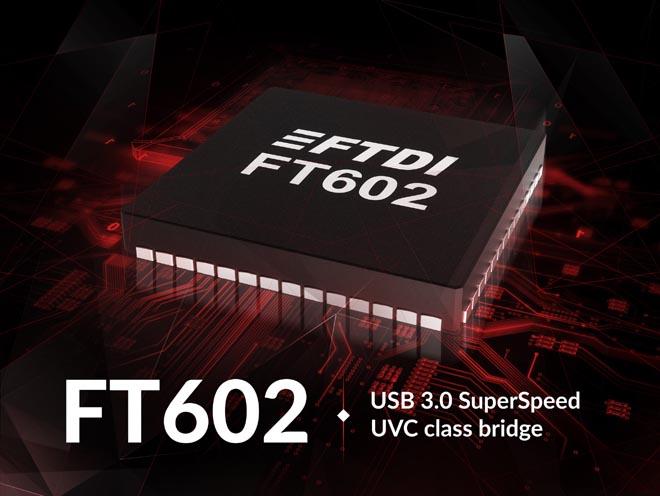 New FTDI USB 3.0 Bridging IC Supports Video Class Operation