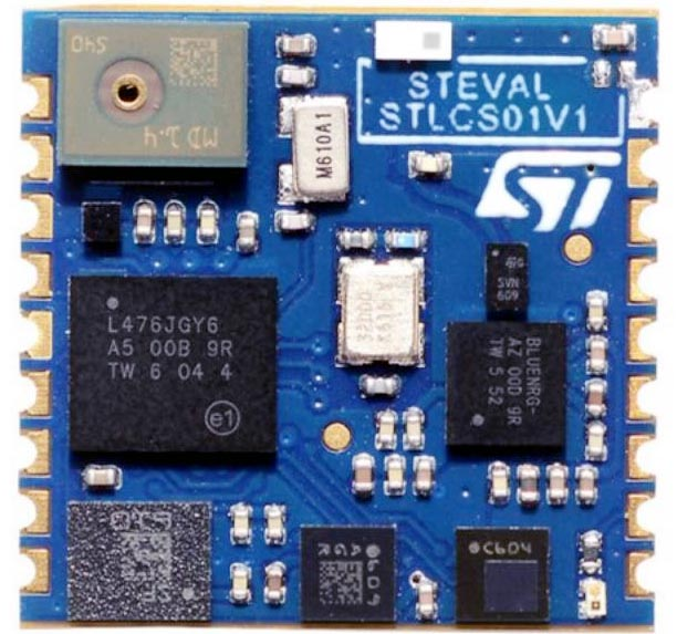 Miniature Multi-Sensor Module from STMicroelectronics Jumpstarts IoT and Wearable Designs
