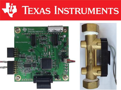 Готовое решение ультразвукового счетчика воды от Texas Instruments
