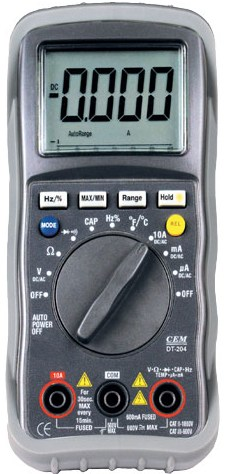 Мультиметр CEM DT-204