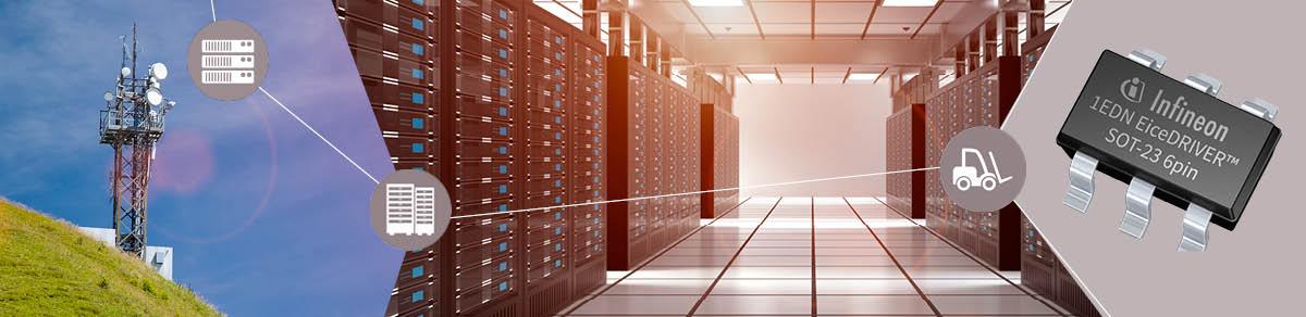 Infineon выпускает драйверы затворов с самым низким в отрасли потреблением мощности