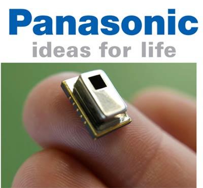 Матричные инфракрасные датчики Grid-EYE от Panasonic