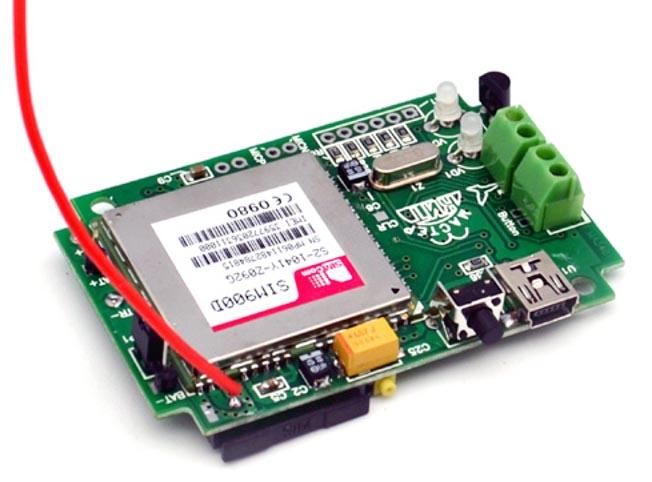 Необычное применение модуля GSM-SMS сигнализации MA3401