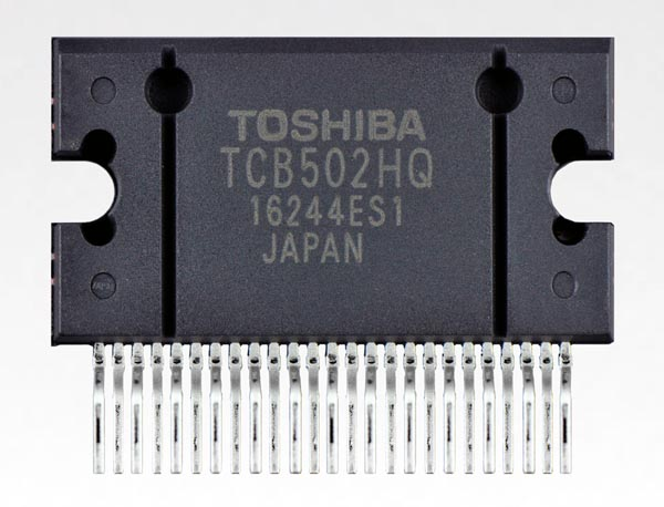 Toshiba Launches Car Audio Current-Feedback Power Amplifier IC with Built-In Full-Time Offset Detection