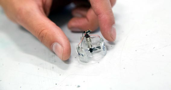 Встречайте Piccolissimo: самый маленький в мире управляемый летательный аппарат с автономным питанием