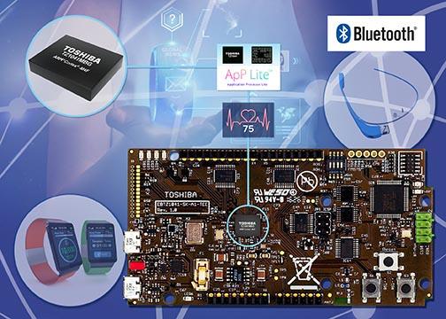 На выставке Embedded World Toshiba представляет комплект разработки устройств Интернета вещей для создания носимых устройств с поддержкой Bluetooth