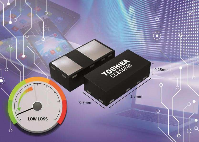 Toshiba Introduces Low Reverse Current Schottky Barrier Diodes for Voltage Boosting Circuits