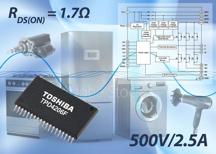 Интеллектуальный силовой модуль позволяет создавать компактные высокоэффективные приводы бесколлекторных электродвигателей постоянного тока мощностью до 80Вт с низким уровнем шума