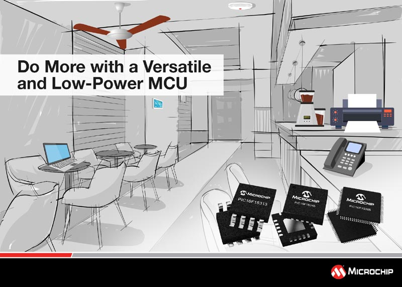 Latest PIC MCU Family Brings Ease of Design with More Core Independent Peripherals