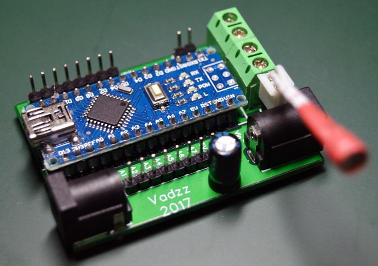 Контроллер управления подсветкой рабочей зоны на кухне