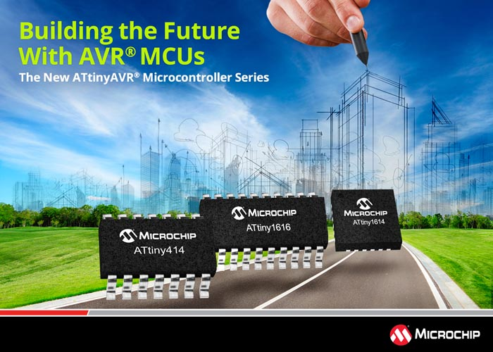 New tinyAVR MCUs Increase System Throughput