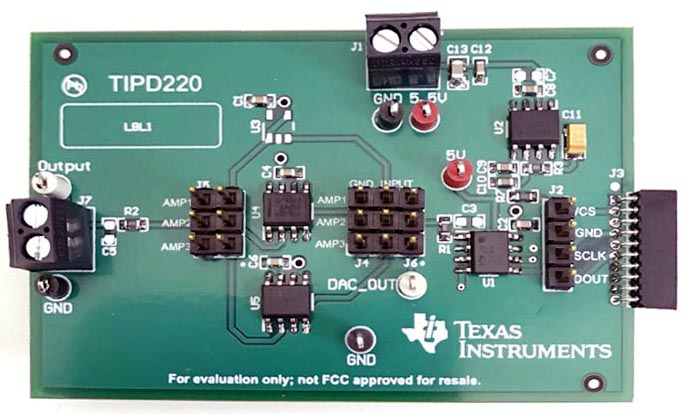 TIDA-01402 High-Precision Reference Design for Buffering a DAC Signal