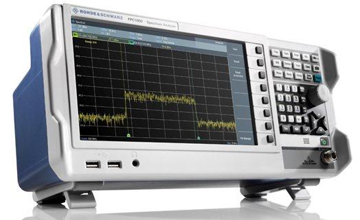 Компания Rohde&Schwarz представляет линейку недорогих анализаторов спектра начального уровня R&S FPC1000