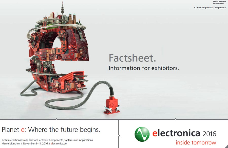Fast Forward Forum от журнала «Elektor» на 27-й Международной выставке Electronica 2016, München