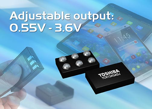 Toshiba представляет LDO-регулятор с выходным током 1.3А в самом миниатюрном корпусе в отрасли