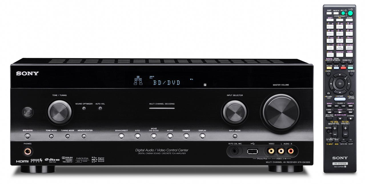 AV ресиверы STR-DN1020/1030
