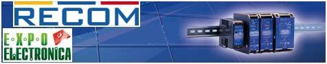 Компания «ЭФО» представляет сетевые источники питания на DIN-рейку от компании RECOM