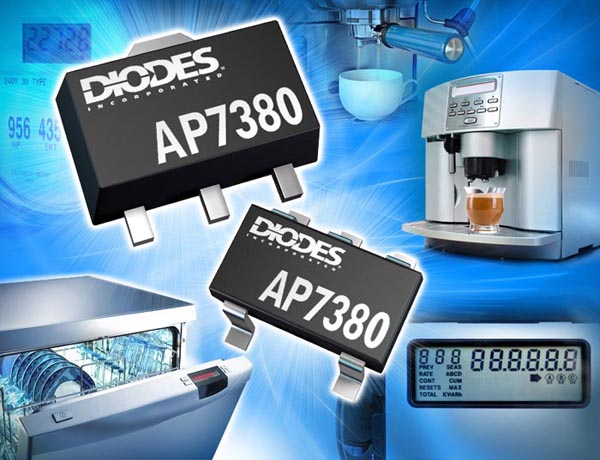 Ultra-Low Dropout 150mA Regulator from Diodes Incorporated Supports Wide Input Voltage Range with Fixed Output Voltages
