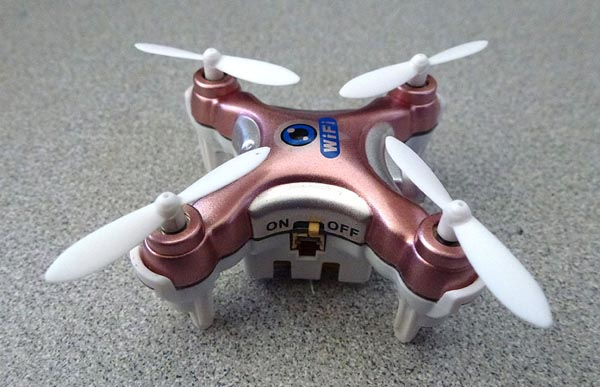Teardown: Drone streams live video
