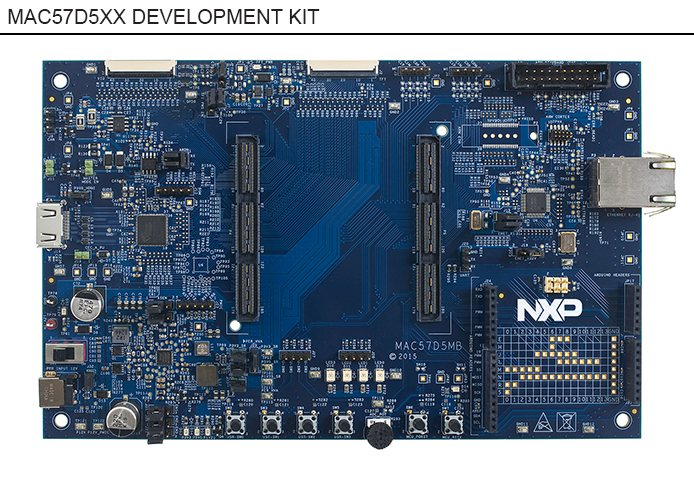 NXP Announces Availability of MAC57D5xx Linux and FreeRTOS Software Enablement Package