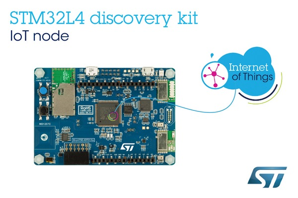Affordable STM32 Cloud-Connectable Kit STMicroelectronics Puts