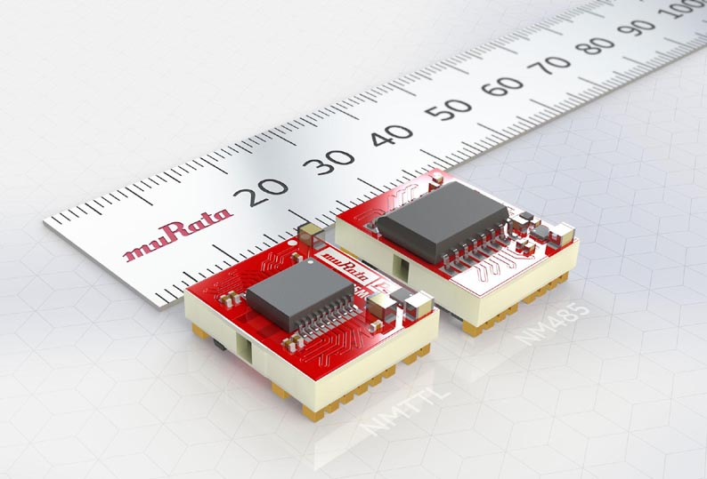 NM485D6S5MC and NMTTLD6S5MC: Murata's integrated modules for RS485 and TTL interfaces provide isolated power