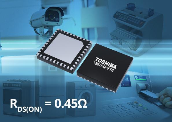 Контроллер шаговых электродвигателей последнего поколения от компании Toshiba Electronics Europe экономит пространство и снижает нагрев и шум