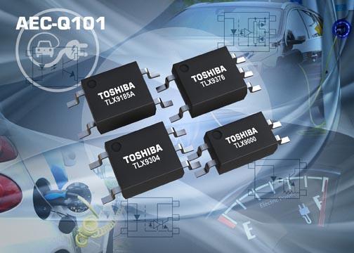 Toshiba представляет оптопары для автомобильных систем