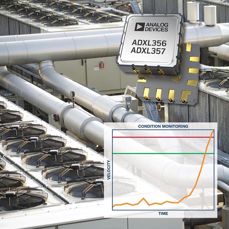 Analog Devices - ADXL356, ADXL357